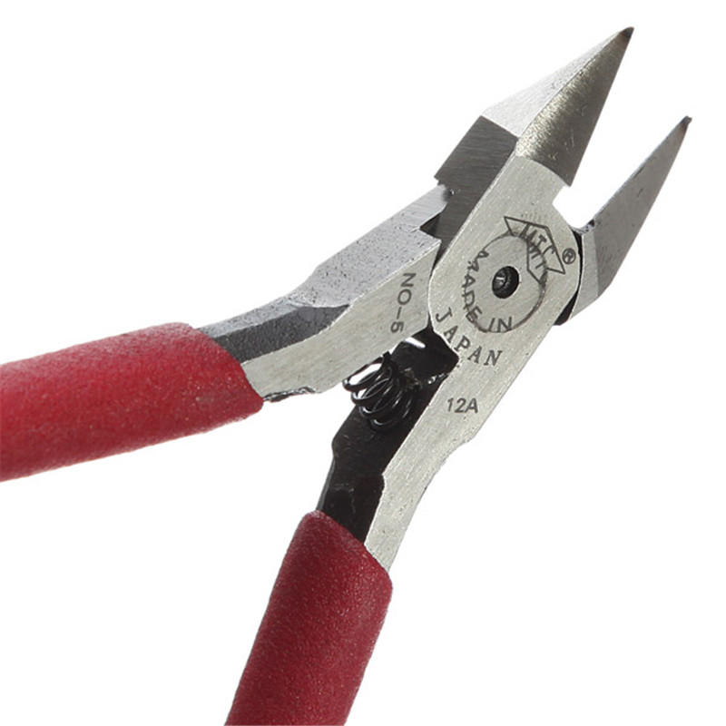 New Hot New 125mm Diagonal Beading Cable Wire Side Oblique Cutter Cutting Nippers Pliers Tool