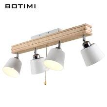 BOTIMI Einstellbar Decke Flurbeleuchtung Lampe Metall FHRTE Deckenmontage Lampen Licht E27 Kaffee Bar Leuchten