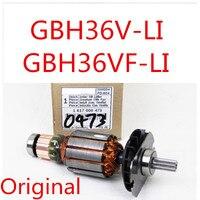 Оригинальный арматурный ротор для BOSCH GBH36V LI GBH36VF LI GBH 36VF LI 36V LI 1617000473 аксессуары для электроинструмента электрические инструменты часть