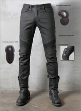 2016 The newest UglyBROS Johnny ubs08 jeans winter a plastic wind motorcycle coasting jeans man pants motor pants
