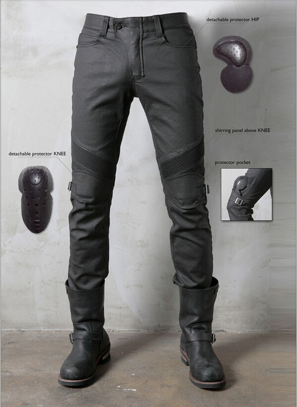 2016 новые UglyBROS Джонни ubs08 джинсы зима мотоцикл пластиковые ветра выбега джинсы мужчины брюки брюки