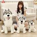 Super MOE Siberian Husky plush dolls The White Dog Doll The dog birthday gift toys for children