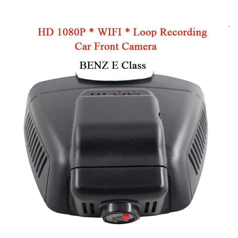 WIFI Waterproof HD 1080P Car DVR Camera Night Vision Front Camera For BENZ E Class Car DVD Monitor Recorder GPS Loop Recording gps навигатор lexand sa5 hd