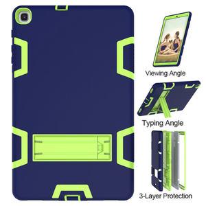 Image 4 - Pesante Custodia In Silicone per Samsung Galaxy Tab 10.1 SM T510/T515 S5e T720/T725 T590/T595 10.5 pollici Tablet Funda Capa Cover + Regali