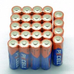 Image 2 - (40 ピースコンボパック) pkcell 20 pc aaa LR03 AM4 E92 20 pc LR6 AM3 E91 MN1500 aa アルカリ電池 1.5 v 電子温度計