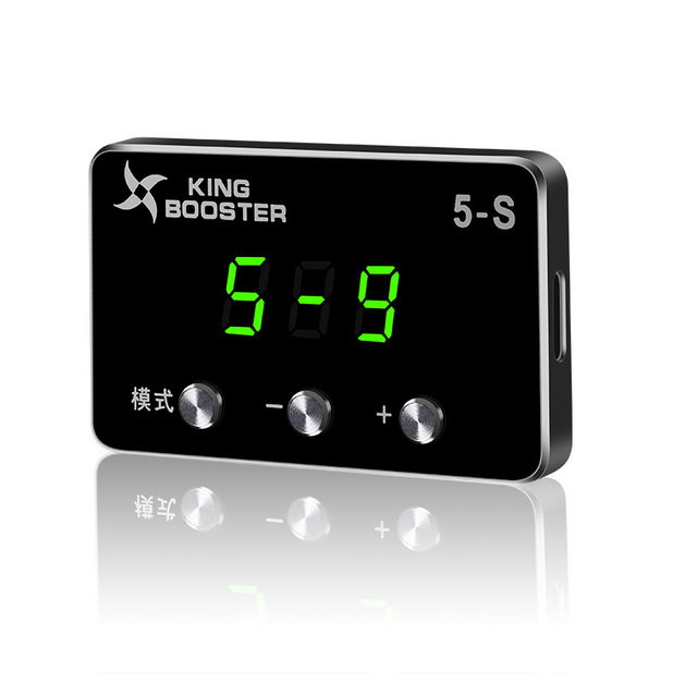 LED Display Car Electronic Throttle Controller Auto Components Improve Speed Power Performance Booster For DOGE RAM 2009+