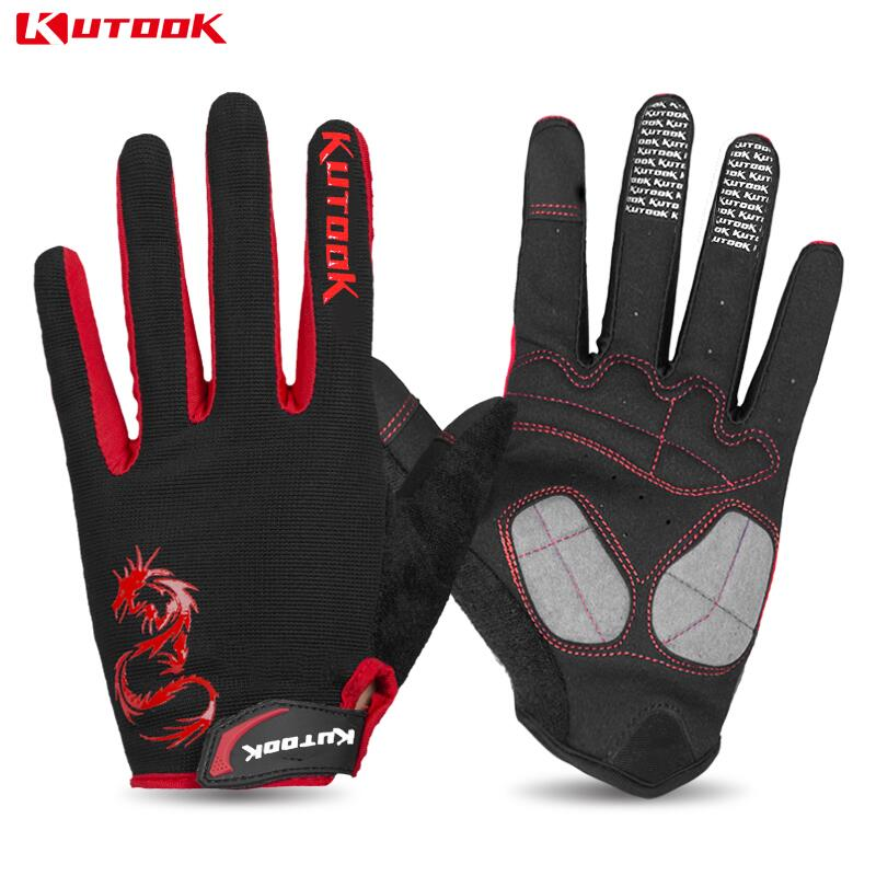 KUTOOK NEW Windproof Winter Gloves Full Finger Men Women Driving Cycling Weight Lifting Gloves Gym Training Sports Gloves