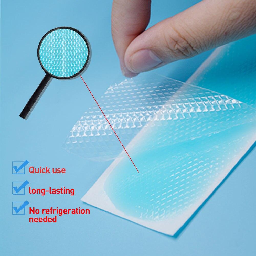Sumifun охлаждающие Пластыри для взрослых и детей, медицинский пластырь от мигрени, накладка на глаза от головной боли, наклейка с низкой температурой C1619