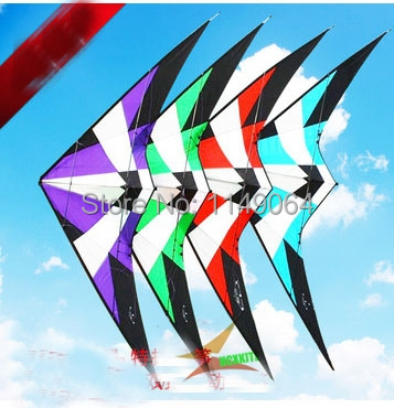 free shipping high quality1.8m storm dual line stunt kite with handle line outdoor toys flying albatross kites weifang kites кошелек albatross