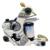 Solong Tattoo Top Vendendo Kit Tattoo Pro Completa 2 Metralhadoras 54 Tintas Alimentação Agulha Grips TK252US