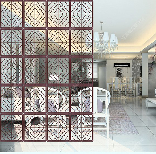 Modern Wood Screen Wall ~ Modern wooden screens paravent in the room partition wall