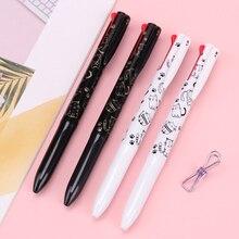 4 في 1 أربعة ألوان قلم الأساسية 0.5 مللي متر متعددة اللون اللون صمام أمان ضغط متوسط مكتب المدرسة لوازم مكتبية