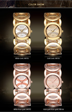 WEIQIN Brand Magic Luxury Rose Gold watch Full stainless steel woman Fashion OL Lady Commercial Watches Relogio Feminino