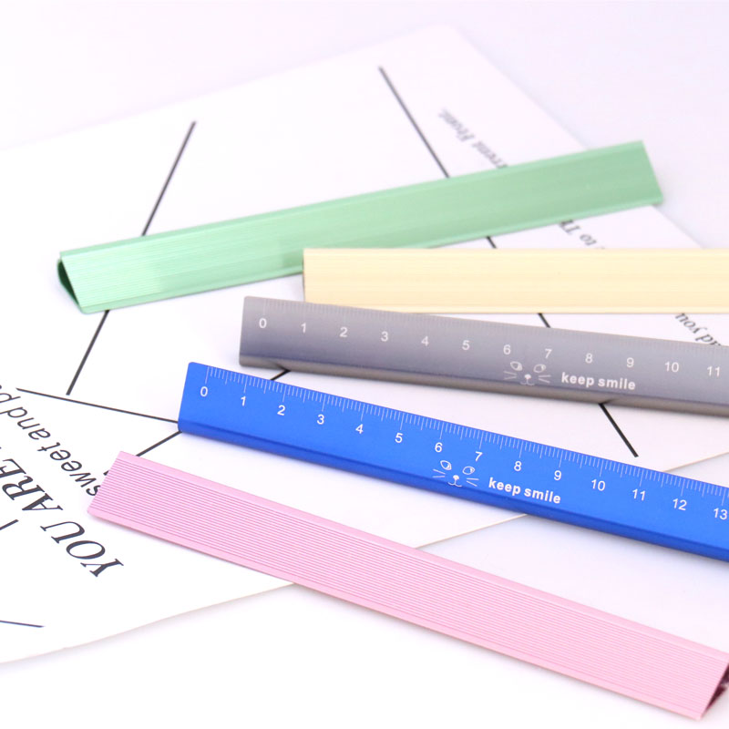 TUTU Stainless Steel Metal Ruler Metric Rule Precision Double Sided Measuring Tool 15cm Wholesale H0105