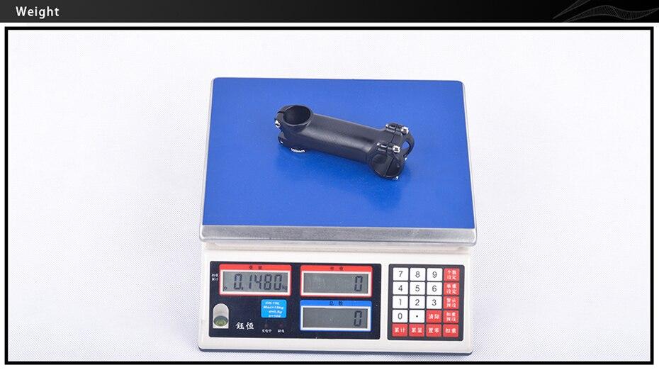 Bxt liga de alumínio haste carbono 8090100110120mm