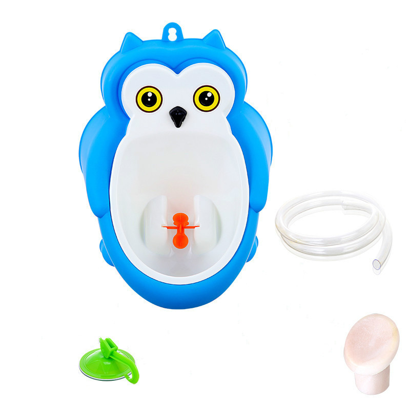 Baby boy Urinal Pee Frog and Owl baby toilet training Colored Children Potty Baby Urine Groove PP hooked Urinal for kids (13)