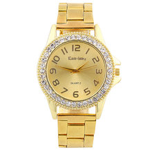 2018 Casual Mens Watches Top Brand Luxury Dress Rose Gold Diamond Crystal