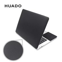 """Черная 3D наклейка из углеродного волокна для ноутбука 15,6 виниловые наклейки для ноутбука 1"""" 15"""" 1"""" 13"""" наклейки для mac air 13,3/mi pro/asus/hp"""