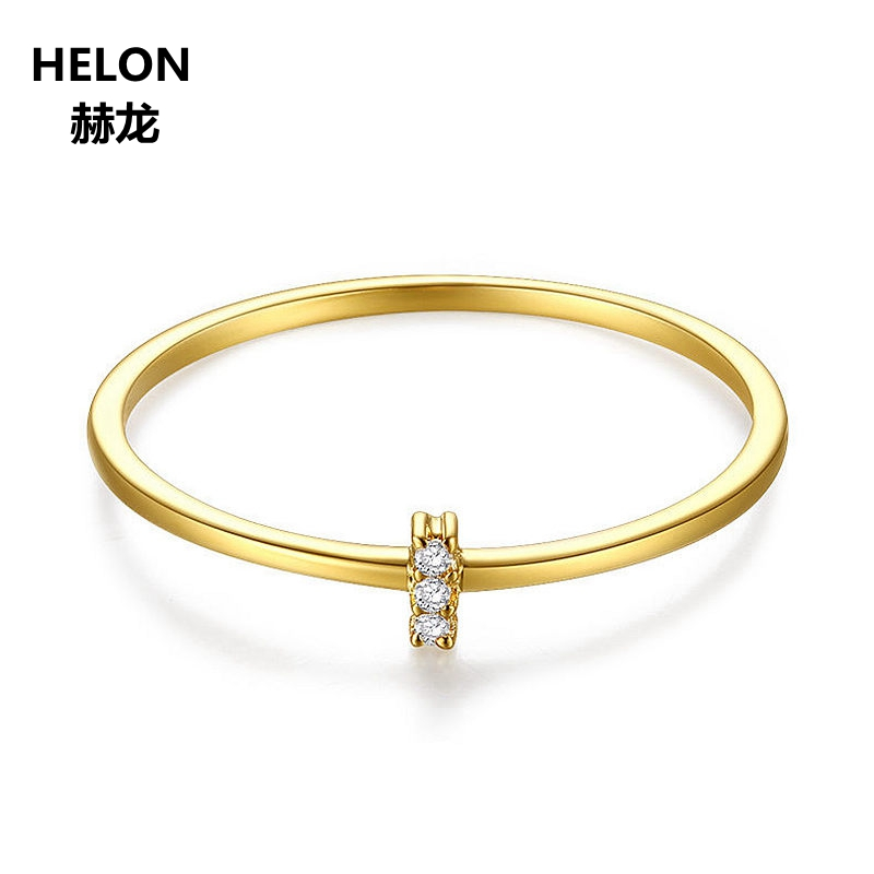 Natural Diamond Ring for Women 14k Solid Yellow Gold Engagemnet Wedding Ring Fine Jewelry GiftNatural Diamond Ring for Women 14k Solid Yellow Gold Engagemnet Wedding Ring Fine Jewelry Gift