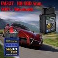 2016 Mais Recente bluetooth Wi-fi Interface Can-Bus OBD2 Scanner ELM 327 OBD II Suporta Android/IOS/PC OBD2 Ferramenta De Diagnóstico do sistema