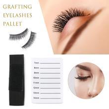 цена на Acrylic Eyelash Holder False Lashes Adhesive Glue Pallet Holder for Eyelash Extensions Eyelashes Holder