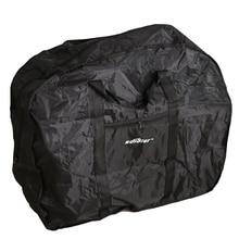 Bolsa de viaje para bicicleta portátil funda de transporte impermeable plegable para bicicleta de montaña 90x30x80 cm