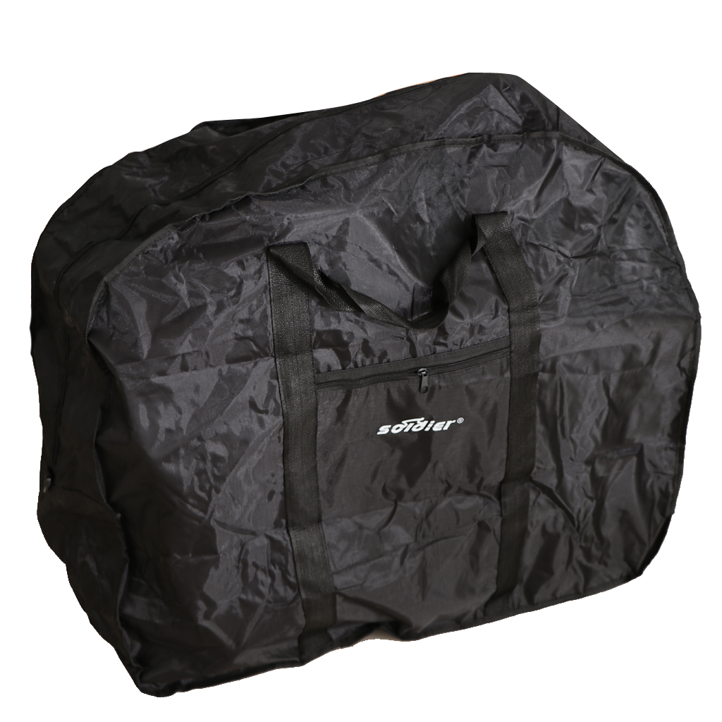 Portable Bike Travel Bag Carry Transport Case Waterproof Folding Mountain Bike Luggage 90 x 30 x 80cm in Bicycle Bags Panniers from Sports Entertainment