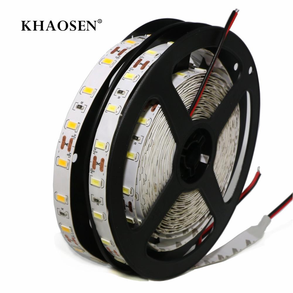 White/Warm White LED Strip Flexible Light 2835 5630 5050 60LEDs/m No-waterproof/IP65 Waterproof 5054 120LEDs/m 1m 2m 3m 4m 5m
