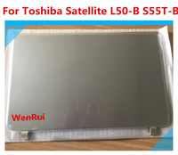 New Top Cover LCD Back Case For Toshiba Satellite L50 B S55T B DTG33BLILC00 touch series