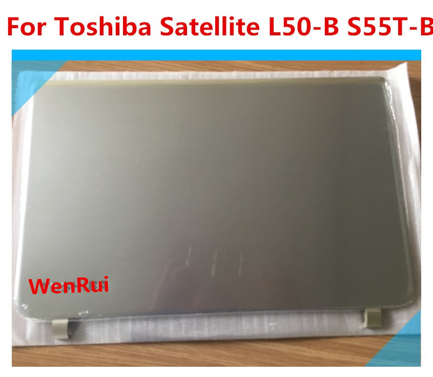 New Top <font><b>Cover</b></font> LCD Back Case For <font><b>Toshiba</b></font> Satellite <font><b>L50</b></font>-B S55T-B DTG33BLILC00 touch series image