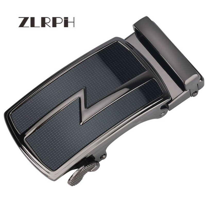 ZLRPH Famous Brand Belt Buckle Men Top Quality Luxury Belts Buckle For Men 3.5 Cm Strap Male Metal Automatic Buckle