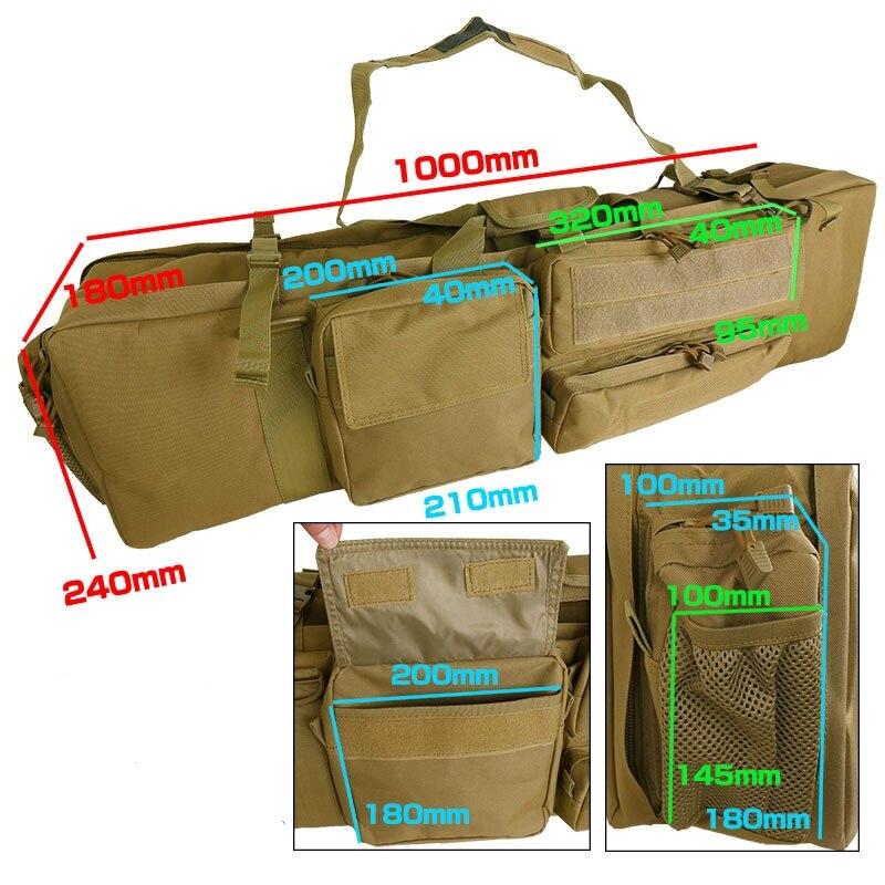 100cm sacos transporte militar ao ar livre