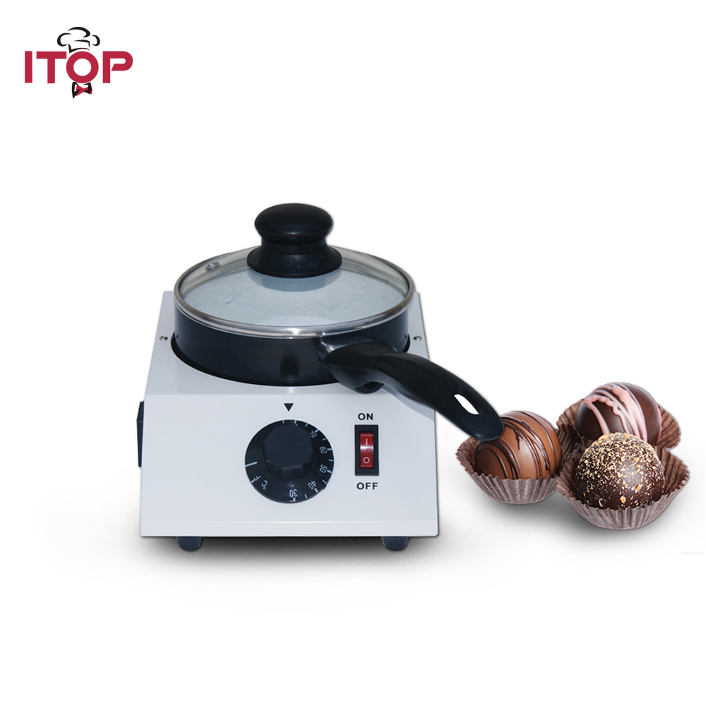 ITOP Commercial Household Chocolate Melting Pot ,Electric Fountains Machine 110V 220V