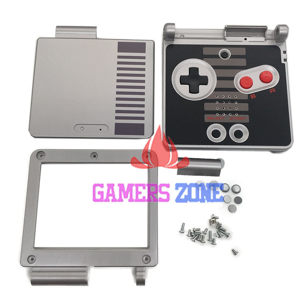 5SETS For GameBoy Advance SP Classic NES Limited Edition Replacement Housing Shell For GBA SP Housing Case Cover for nes classic mini edition case travel storage hard shell for nes classic edition 2017 for snes classic edition case mini bag