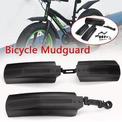 Ciclismo bicicleta fender peças de bicicleta paralama mtb montanha 20-26 polegada lama asas frente roda traseira fender