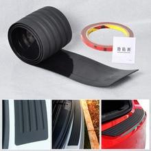 CITALL New Black Rubber Rear Guard Bumper Protector Trim Cover For VW Volvo Benz Audi BMW Buick Mazda Chevrolet