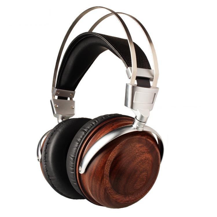 DIY headset Wooden Headphones 50mm speaker bass 50 diy