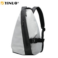 YINUO Multifunction Mini Backpack Men Fashion Triangle Gym Bag For iPad iPhone Sling Bags Back Anti Theft Waterproof