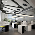 Современные подвесные светильники для офисной комнаты  гостиной  кухни  светильники с дистанционным управлением  lustre дизайн  подвесной све...