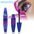1pcs blue brand  Waterproof Mascara lot FIBER eyelashes colossal mascara volume express makeup For Eye cosmetics eyes 3d