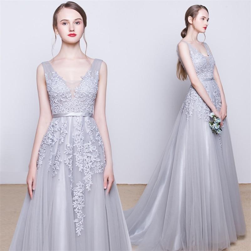 High quality lavender wedding dresses buy cheap lavender for Cheap silver wedding dresses