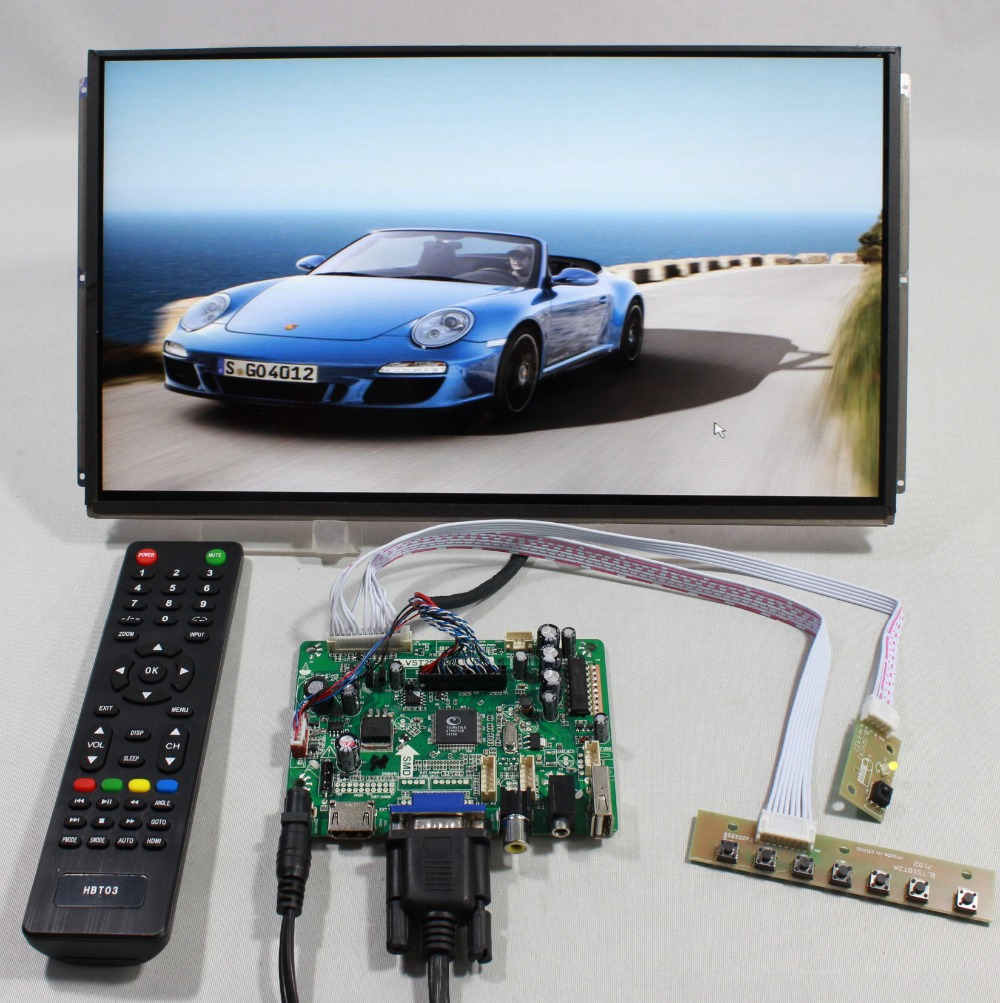 HDMI VGA AV FPV Controller board with 13.3inch LP133WD1 SLA1 1600x900  IPS LCD screen model lcd for Raspberry Pi hdmi vga 2av lcd controller board with 7inch n070icg ld1 39pin reversal1280x800 ips touch lcd