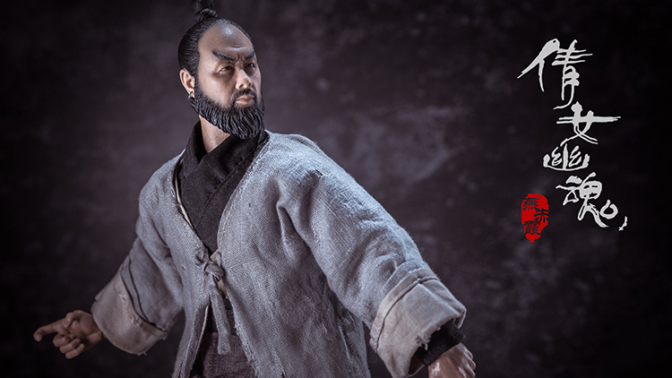 For Collection YT001 <font><b>1/6</b></font> Scale Full Set A Chinese Ghost Story Yan Cabernet with <font><b>Beard</b></font> Action Figure Model for Fans Gifts image