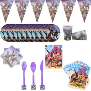 Kids Disposable Tableware Napkin Party Supplies