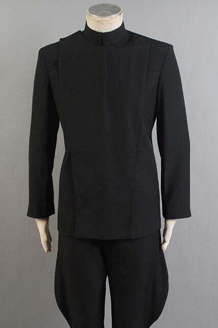 Star Wars Imperial Officer Cosplay Costume Stormtrooper Black Uniform size Halloween Adult Men Full Sets 4