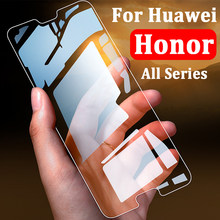 Protective Glass Honor 9 Light Case On The For Huawei Honer 8 10 Lite Screen Protector Tempered Glas Cover 9Lite 8Lite 10Lite 9H(China)