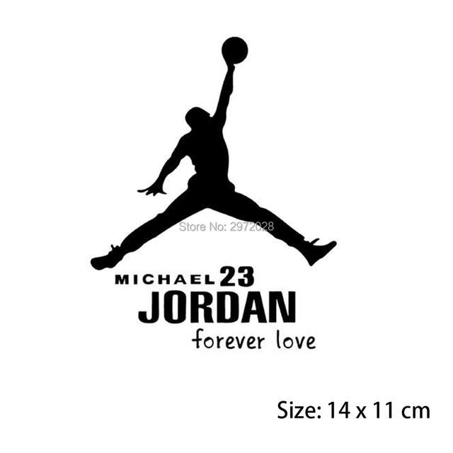 1fd14c23631e18 10 x Newest Stickers Forever 23 Forever MVP Michael Jordan Car Stickers Car  Decal for Toyota