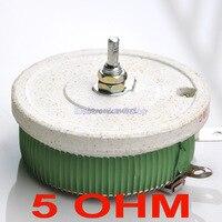 200W 5 OHM High Power Wirewound Potentiometer Rheostat Variable Resistor 200 Watts