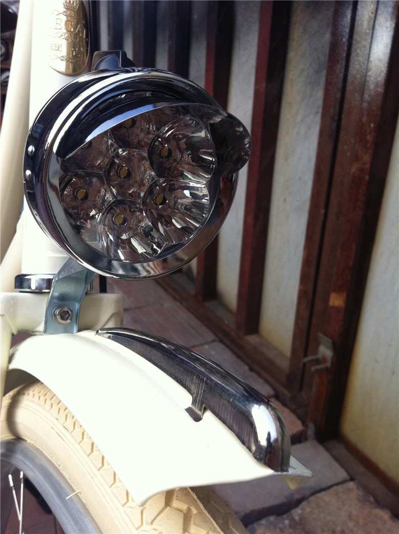 vintage bicycle light bike lights led classical fiets lamp accessories