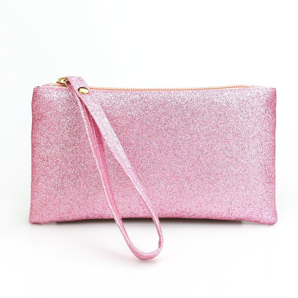 Wommen Bling Bling Coin Purse Wristlet Handbag